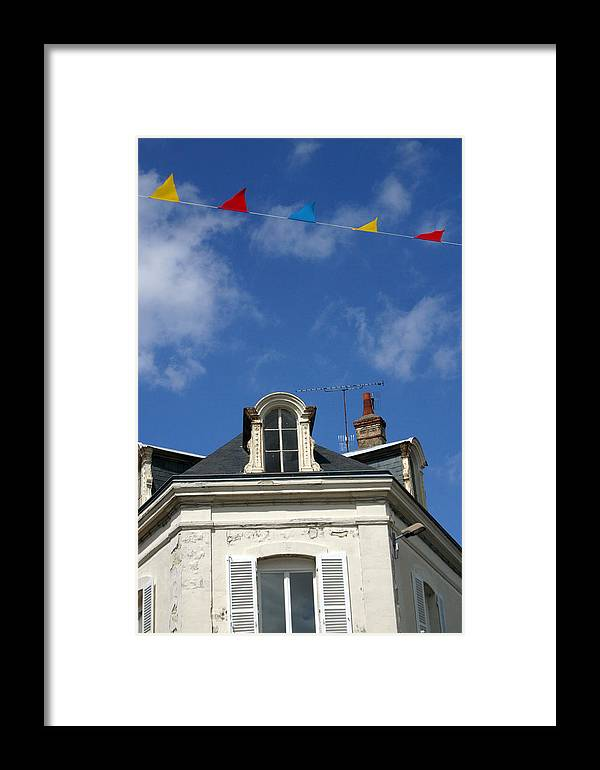 Photographer Framed Print featuring the photograph Bunting Days by Jez C Self