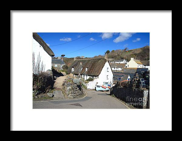 Cadgwith Framed Print featuring the photograph Cadgwith by Carl Whitfield