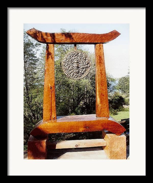Vaporous Framed Print featuring the photograph Calekus Portal by Eric Singleton