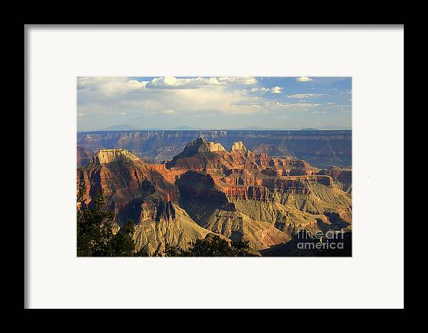 Sunset Framed Print featuring the photograph Canyon Sunset by Neil Doren