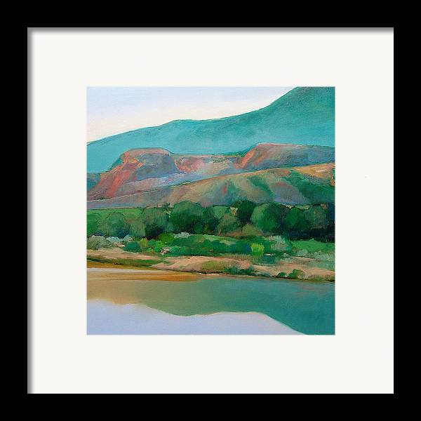 Chama River Framed Print featuring the painting Chama River by Cap Pannell