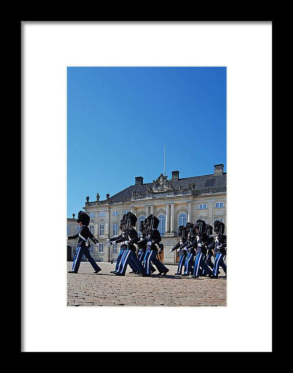 Changing Of The Guard Framed Print featuring the photograph Changing Of The Guard by Robert Lacy