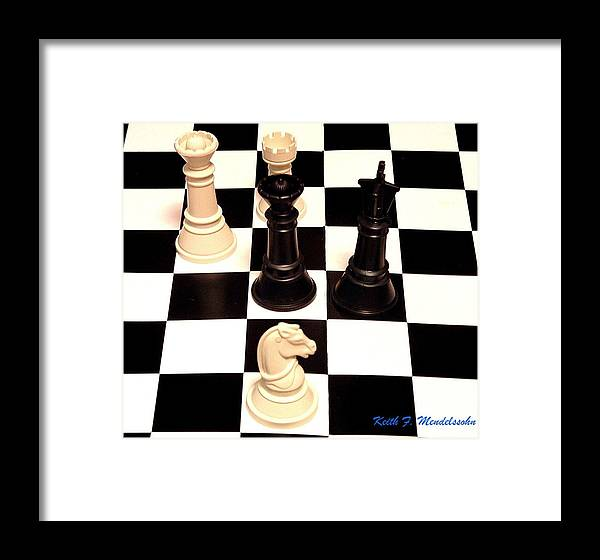 Chess Framed Print featuring the photograph Check Mate by Keith Mendelssohn