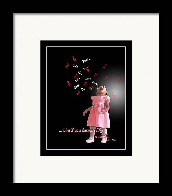 Child Framed Print featuring the photograph Childlike by Richard Gordon