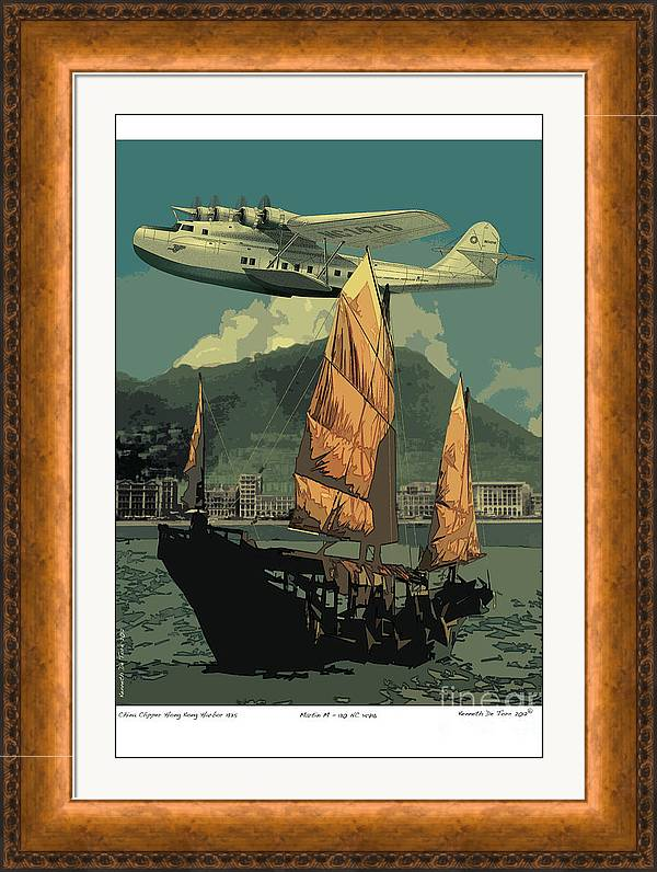 China Clipper by Kenneth De Tore