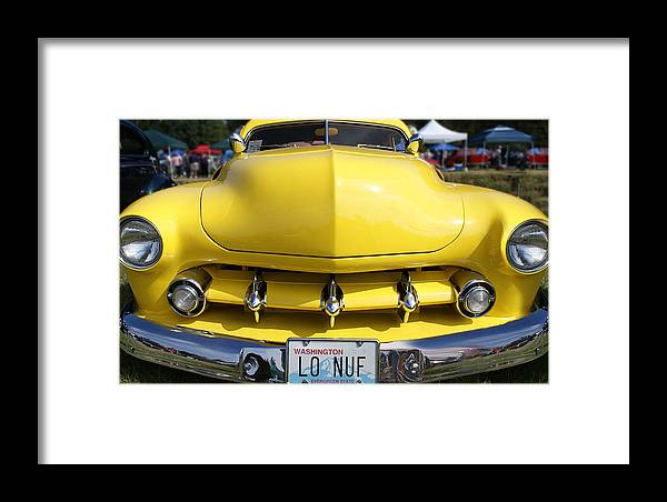 Framed Print featuring the photograph Classic Car No. 11 by Kyle Wilen