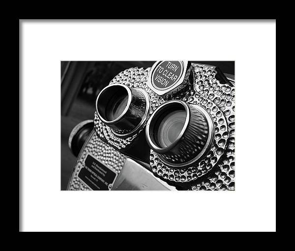 Black Framed Print featuring the photograph Clear Vision by Angela Wright