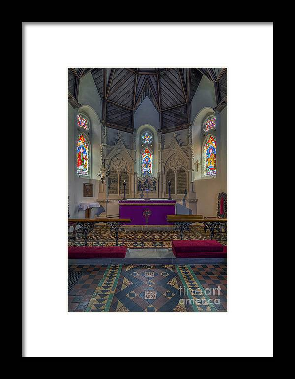 Chapel Framed Print featuring the photograph Complete Faith by Ian Mitchell