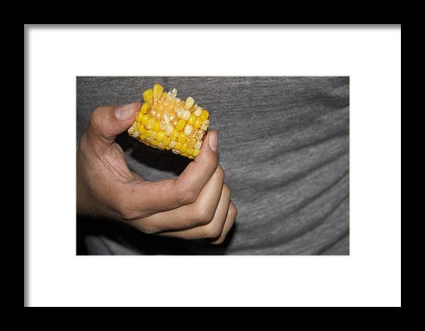 Corn Framed Print featuring the photograph Corn by Molly Sider