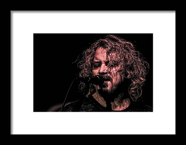 Capps Framed Print featuring the photograph Danny Chauncey Vii by Pete Federico