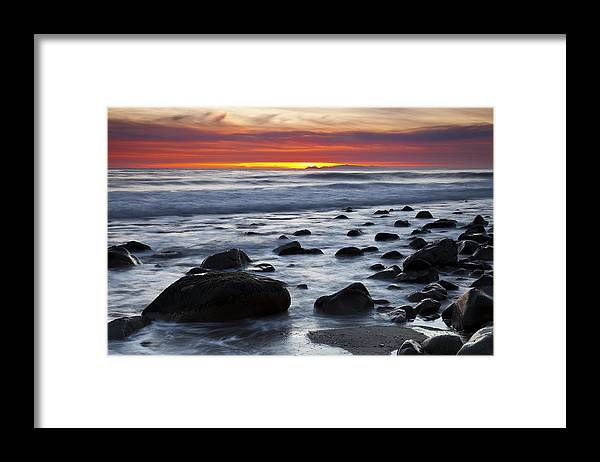Beaches Framed Print featuring the photograph Deer Creek Canyon Sunset by Greg Clure