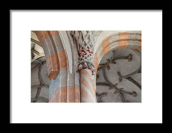 Religious Framed Print featuring the photograph Details Of Religious Art by Nicola Simeoni