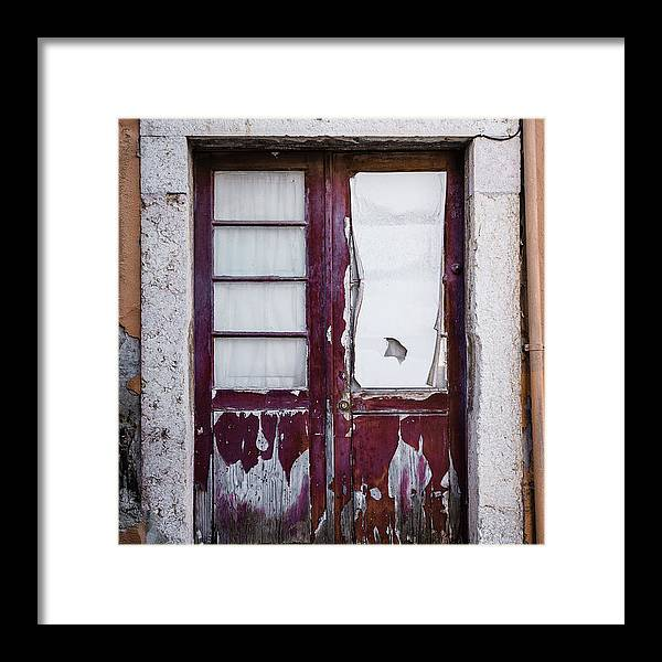 Old Door Framed Print featuring the photograph Door No 7 by Marco Oliveira