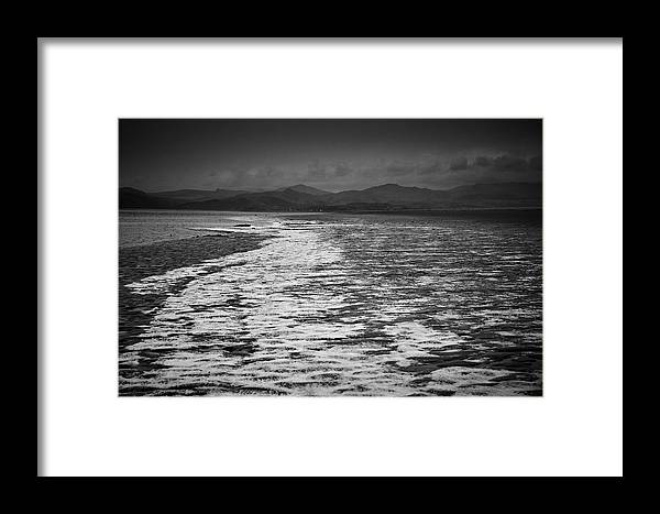 Askam In Furness Framed Print featuring the photograph Duddon Estuary by Keith Elliott
