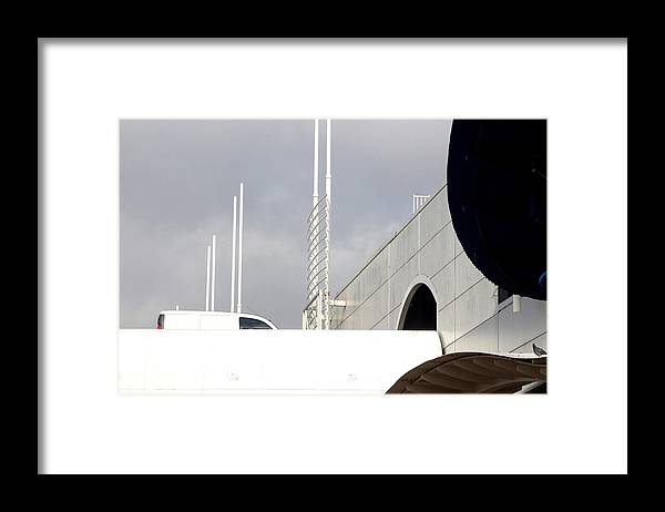 Jez C Self Framed Print featuring the photograph Enter At Your Peril by Jez C Self