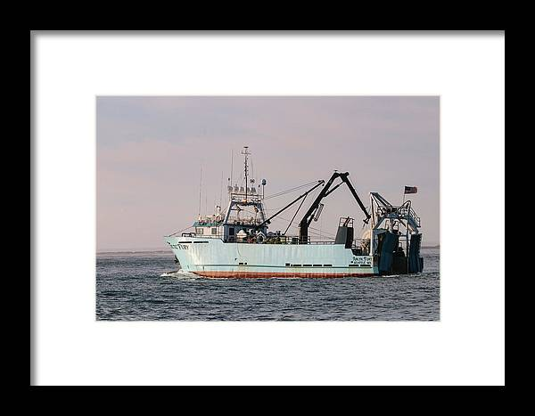 Fishing Boat Framed Print featuring the photograph F/v Arctic Fury by Kris Cox