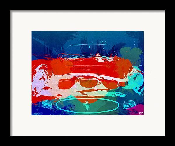 Framed Print featuring the photograph Ferrari Gto by Naxart Studio