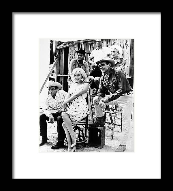 Film: The Misfits, 1961 Framed Print by Granger