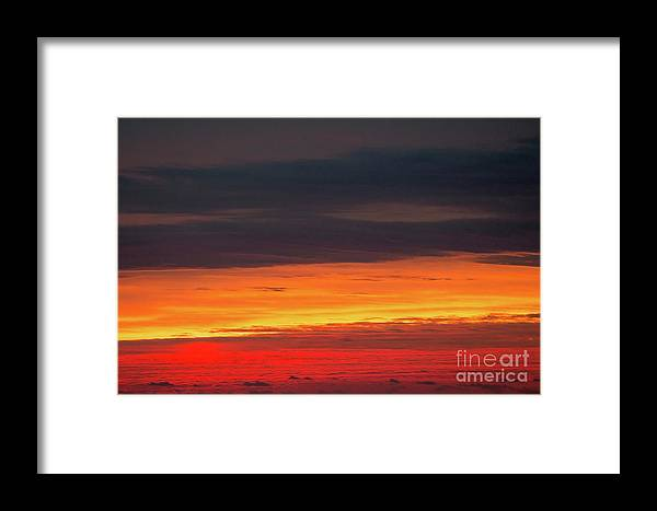 Glow Framed Print featuring the photograph Fire by Robert Loe