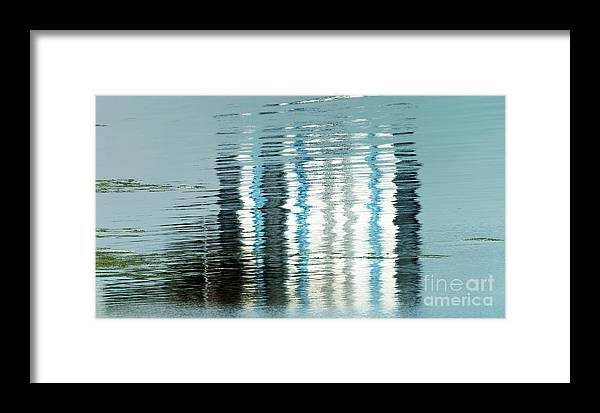 Wendy Framed Print featuring the photograph Floating On Blue 45 by Wendy Wilton
