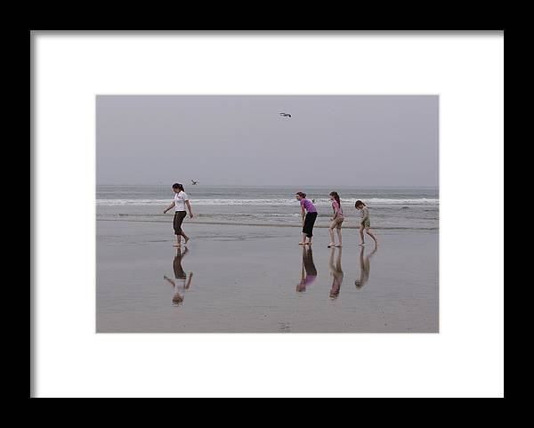 Kevin Callahan Framed Print featuring the photograph Follow Follow by Kevin Callahan