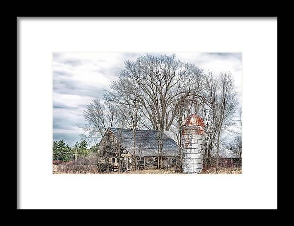 Abandoned Framed Print featuring the photograph Forsaken by Richard Bean