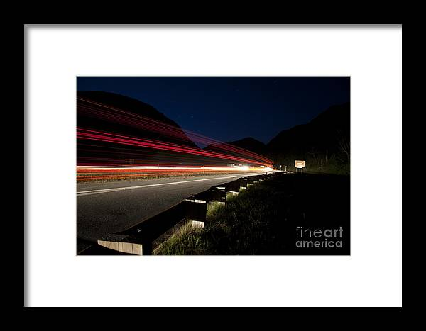 Franconia Notch Framed Print featuring the photograph Franconia Notch State Park - White Mountains New Hampshire Usa by Erin Paul Donovan