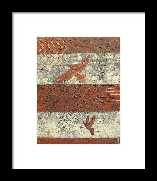 Doves Framed Print featuring the painting Freedom by Shirley anne Dunne