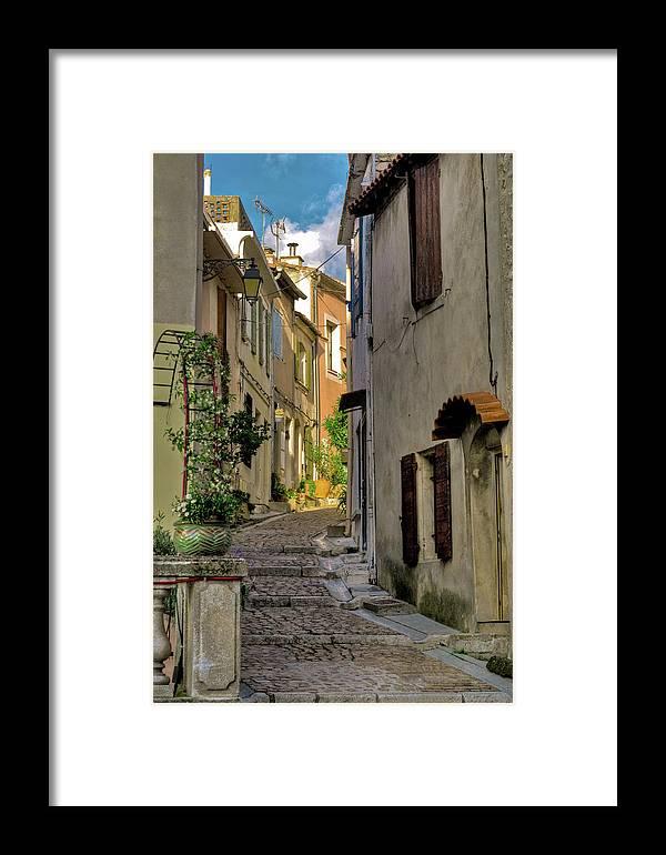 Arles Framed Print featuring the digital art French Scenes by Matt Oaks