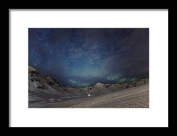 Alaska Framed Print featuring the photograph Gateway by Ed Boudreau