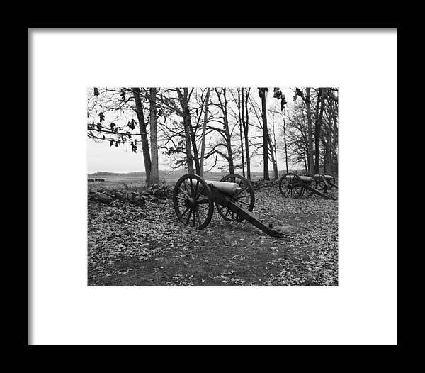 Gettysburg Framed Print featuring the photograph Gettysburg Series Seminary Ridge by Paul Kercher
