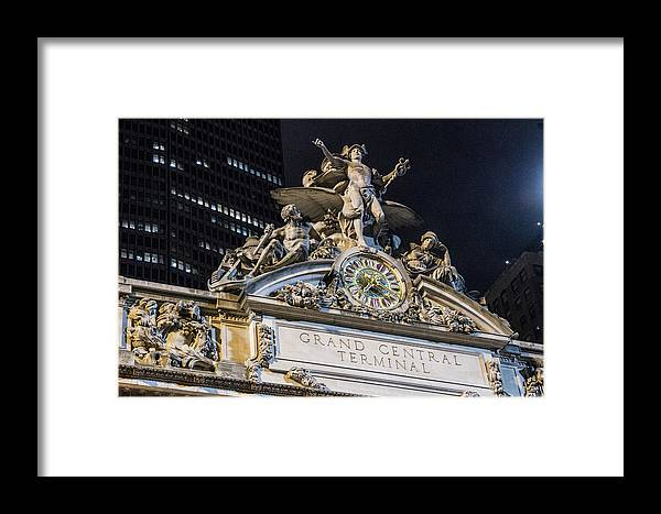 Nyc Framed Print featuring the photograph Glory Of Commerce by Robert J Caputo