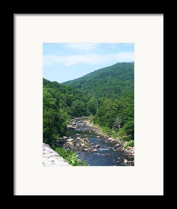 Landscape Framed Print featuring the photograph Goshen Pass by Eddie Armstrong
