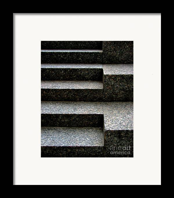 Architectural Framed Print featuring the photograph Gradation by Dana DiPasquale