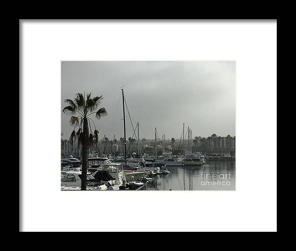 Redondo Framed Print featuring the photograph Grey Harbor by Victoria C Clarke