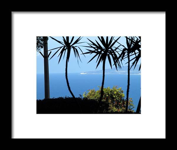 Israel Framed Print featuring the photograph Haifa Bay by Arik Baltinester