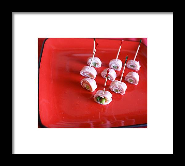 Celebration Framed Print featuring the photograph Ham Rolls by Sonja Anderson