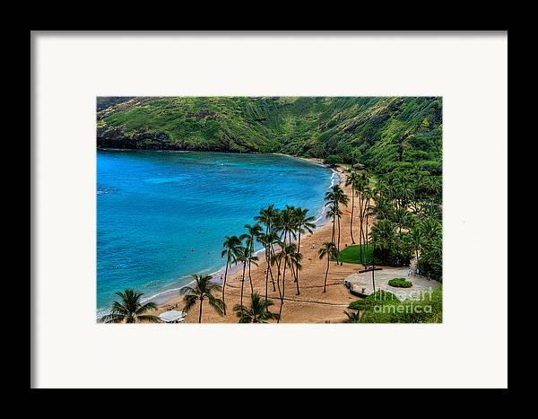 Hanauma Framed Print featuring the photograph Hanauma Bay by Neil Doren