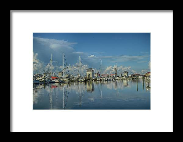 Framed Print featuring the photograph Harbor Morning by R Michelle Stewart