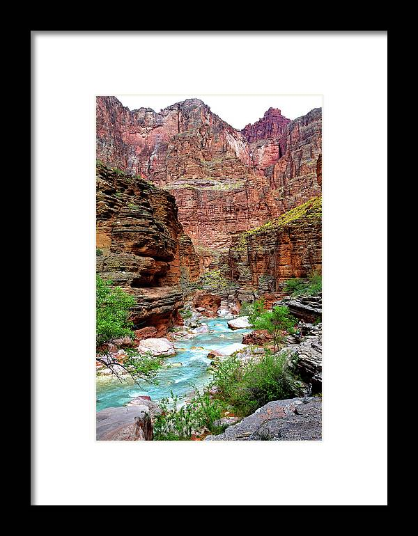 Havasu Framed Print featuring the photograph Havasu by Martin Massari