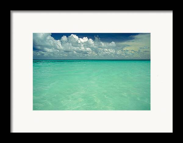 Belize Framed Print featuring the photograph Heaven by Skip Hunt