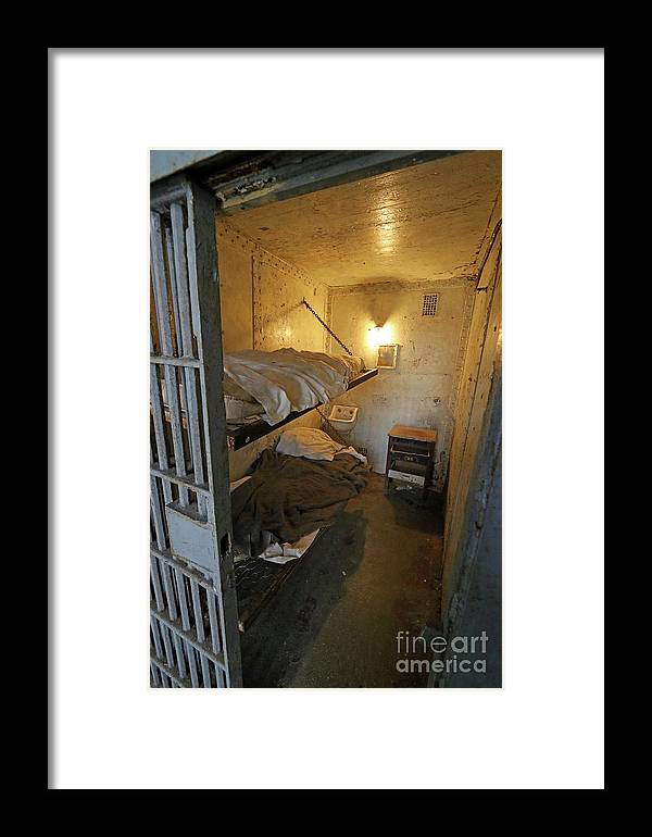 Prison Framed Print featuring the photograph Home Sweet Home by Steve Gass