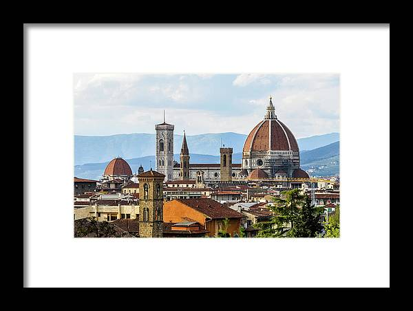 Tuscany Framed Print featuring the photograph Il Duomo In Florence by Dutourdumonde Photography