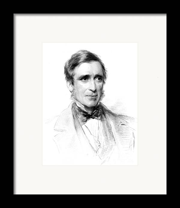 Science Framed Print featuring the photograph James Paget, English Surgeon by Science Source