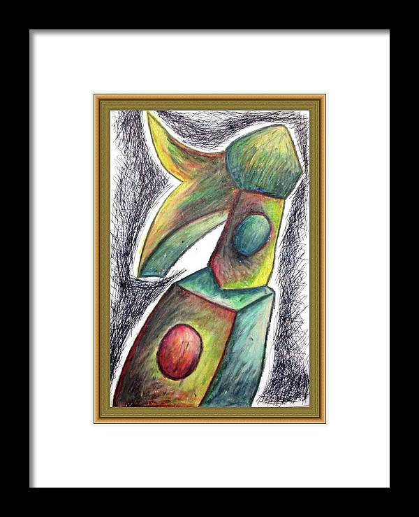 Kehidupan Lelaki Single 2017 Framed Print featuring the painting Kehidupan Lelaki Single 2017 by Download My Artworks Here