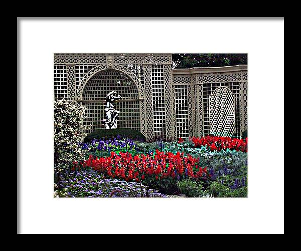 Flowers Framed Print featuring the photograph Kingwood Center by Crystal Webb