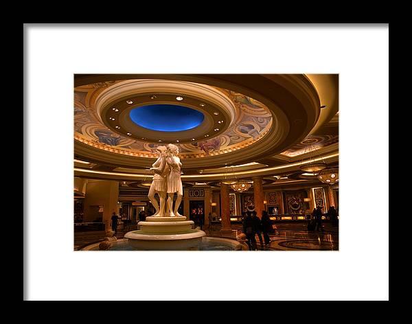 Las Vegas Framed Print featuring the photograph Las Vegas by Patrick Flynn