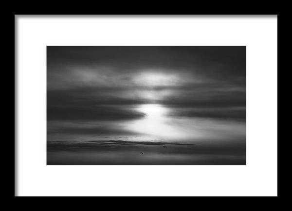 Sky Framed Print featuring the photograph 'light In Depth' by Adam M Dee