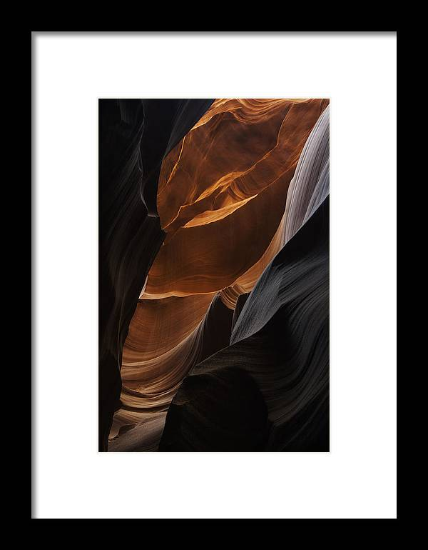 Slot Framed Print featuring the photograph Lower Antelope Canyon 2198 by Bob Neiman