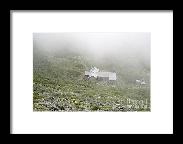 Hike Framed Print featuring the photograph Madison Spring Hut - White Mountains New Hampshire by Erin Paul Donovan